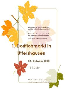 1. Dorfflohmarkt in Uttershausen